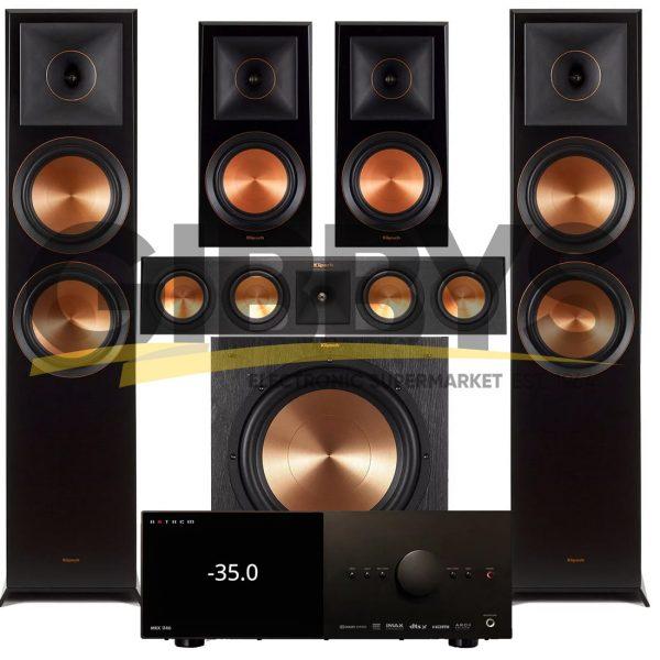 Anthem MRX 1140 A/V Receiver   Klipsch RP-450C Reference Premiere 5.1 Speaker Bundle # 5