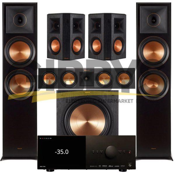 Anthem MRX 1140 AV Receiver Klipsch RP-450CB Reference Premiere 5.1 Speaker Bundle # 7