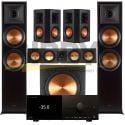 Anthem MRX 1140 AV Receiver Klipsch RP-450CB Reference Premiere 5.1 Speaker Bundle 8