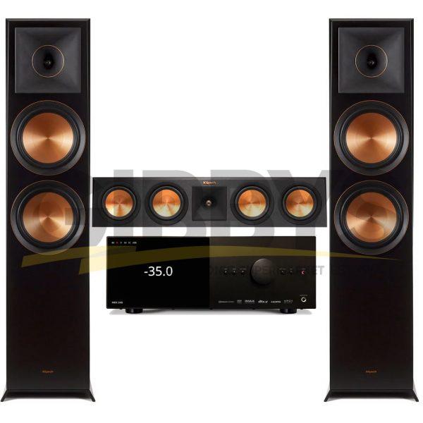 Anthem MRX 540 A/V Receiver   Klipsch RP-450C Reference Premiere 3.0 Speaker Bundle # 1