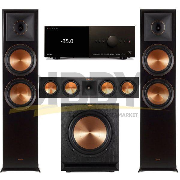 Anthem MRX 540 A/V Receiver   Klipsch RP-450C Reference Premiere 3.1 Speaker Bundle # 2