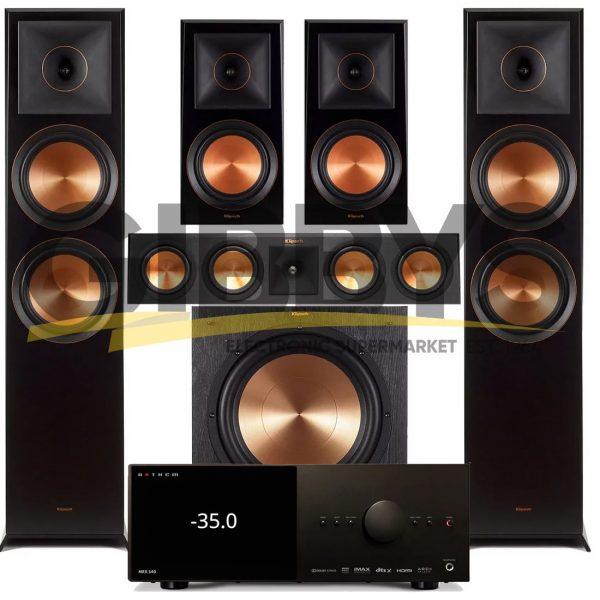 Anthem MRX 540 A/V Receiver | Klipsch RP-450C Reference Premiere 5.1 Speaker Bundle # 5