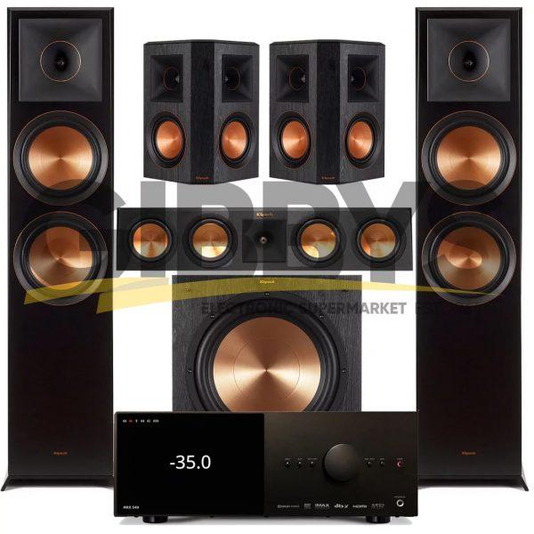 Anthem MRX 540 A/V Receiver | Klipsch RP-450CB Reference Premiere 5.1 Speaker Bundle # 7