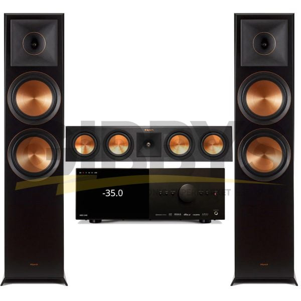 Anthem MRX 540 A/V Receiver   Klipsch RP450CB Reference Premiere 3.0 Speaker Bundle # 1