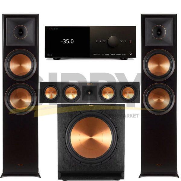 Anthem MRX 540 A/V Receiver | Klipsch RP450CB Reference Premiere 3.1 Speaker Bundle # 3