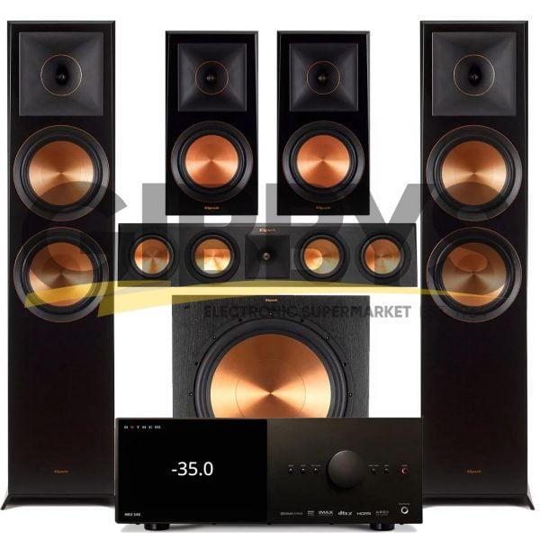 Anthem MRX 540 A/V Receiver   Klipsch RP450CB Reference Premiere 5.1 Speaker Bundle # 6