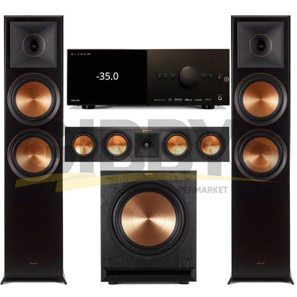 Anthem MRX 740 A/V Receiver | Klipsch RP-450C Reference Premiere 3.1 Speaker Bundle # 2