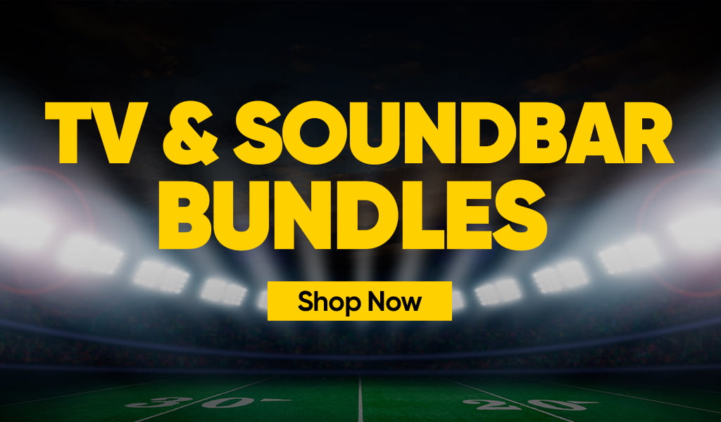 TV and Soundbar Bundles Banner