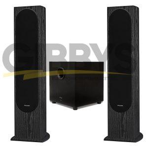 Pioneer SP-FS52 Floorstanding Speakers | Pioneer SW-10 400-Watt Powered Subwoofer Bundle