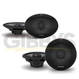 "Alpine R-S65.2 R-Series 6.5"" Coaxial 2-Way Car Speakers 