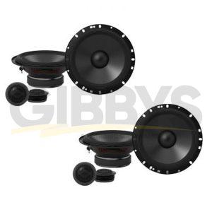 "Alpine S-S65C 6.5"" 2-Way Component Car Speakers - Pair - (x2)"