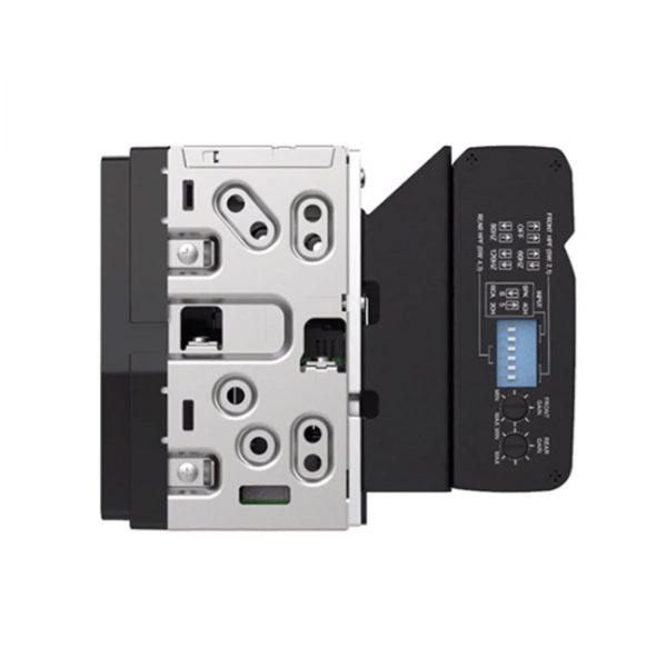 Alpine iLX-W650 Double-DIN 7 Mechless Receiver KTA-450 Bundle