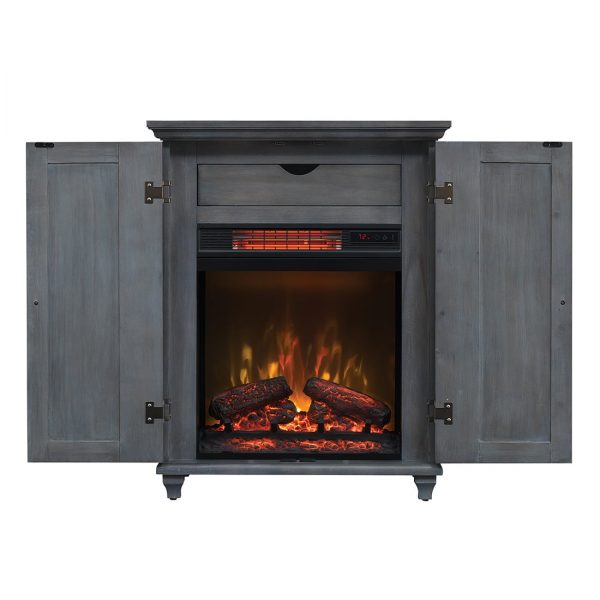 Bell'O 19CM7541 Fireplace Cabinet