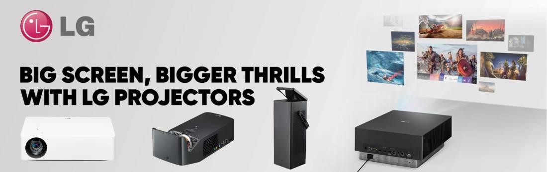LG Projectors No Button