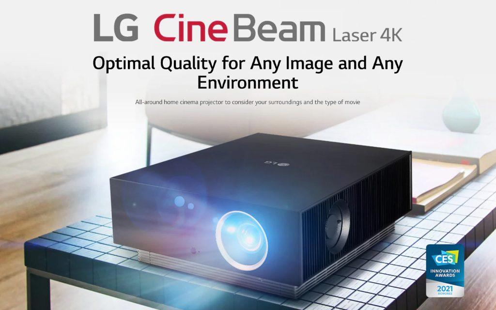 LG Projector AU810
