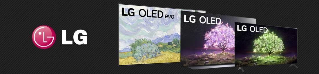LG OLED Landing Page Banner