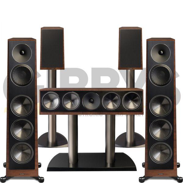 Founder 100F 5.0 Speaker Bundles #1 - Walnut