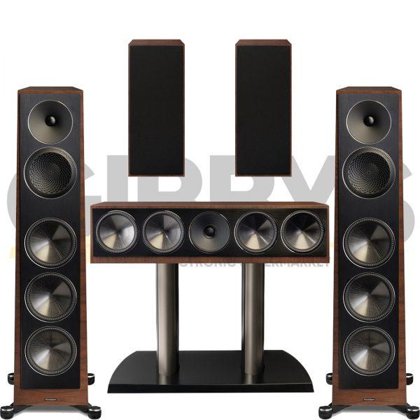 Founder 100F 5.0 Speaker Bundles #2 - Walnut