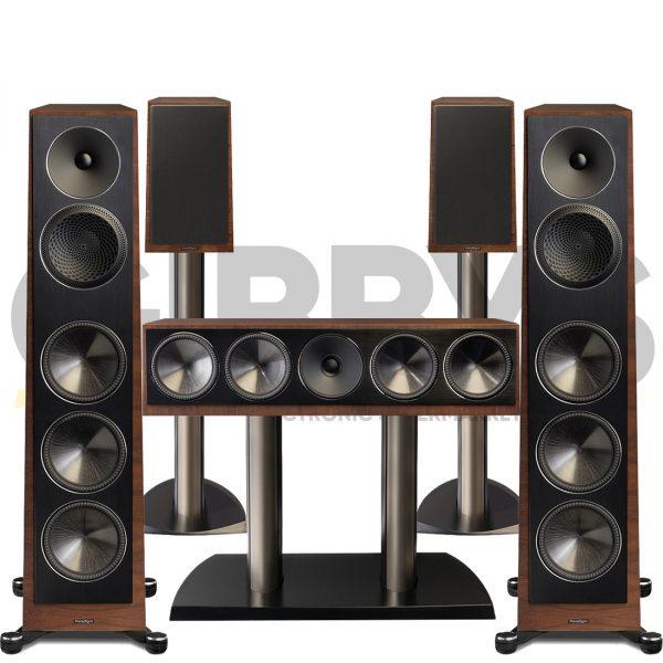 Founder 120H 5.0 Speaker Bundles #1 - Walnut