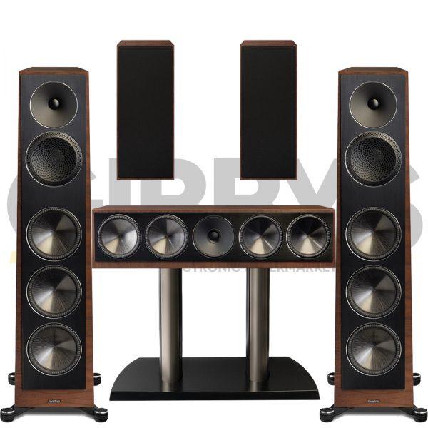 Founder 120H 5.0 Speaker Bundles #2 - Walnut