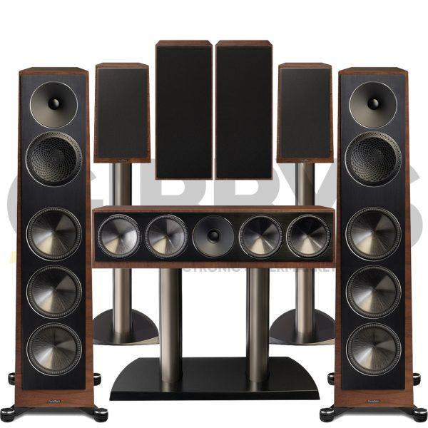 Founder 120H 7.0 Speaker Bundles - Walnut