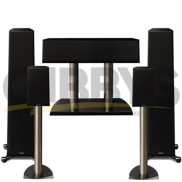 Founder 80F 5.0 Speaker Bundles #1 - Gloss Black