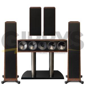 Founder 80F 5.0 Speaker Bundles #2 - Walnut