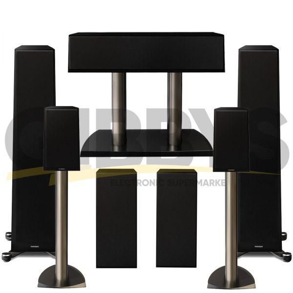 Founder 80F 7.0 Speaker Bundles - Gloss Black