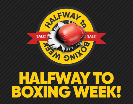 HALFWAY TO BOXING WEEK MOBILE BANNER