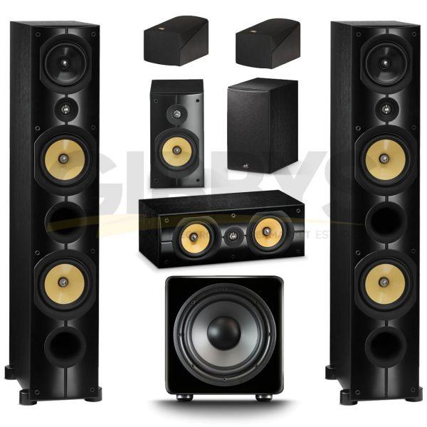 PSB Imagine X2T Series 5.1 Speaker Bundle #1 – Black Ash