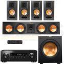 Pioneer VSX-834 7.2-Channel Virtual Bluetooth AV Receiver   Klipsch RB-61 II Reference 5.1 Speaker Bundle #3