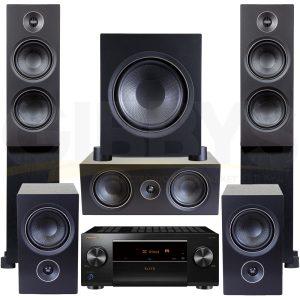 Pioneer VSX-LX504 PSB Alpha T20 C10 P5 Sub10