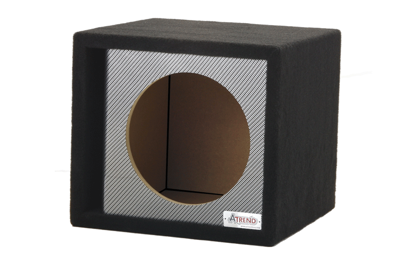 Atrend 12svr 12 single sub enclosure black carbon fiber for Bbox atrend enclosures 12