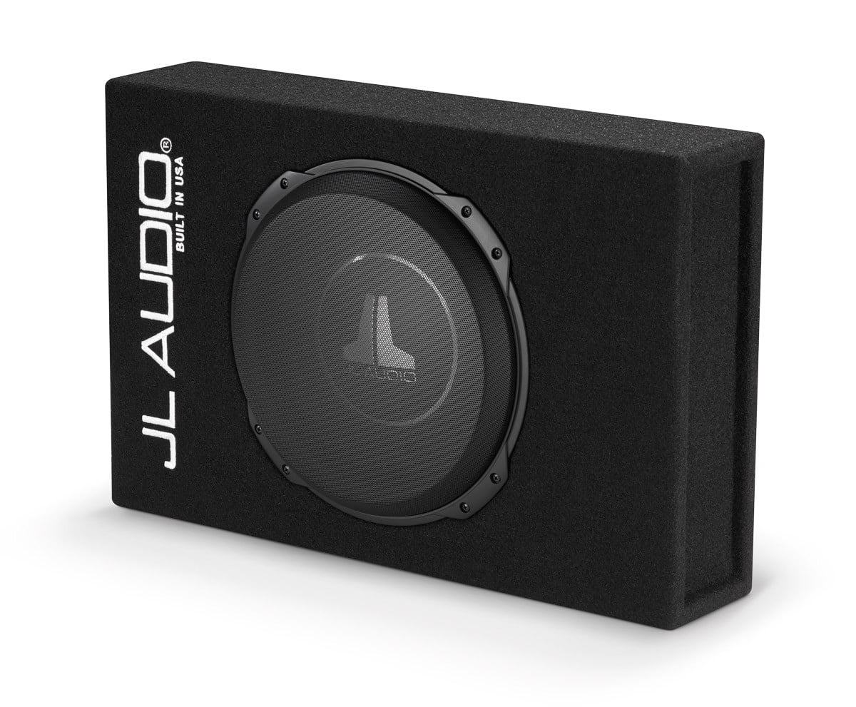 jl audio cs112lg tw3 sealed powerwedge enclosure with one. Black Bedroom Furniture Sets. Home Design Ideas