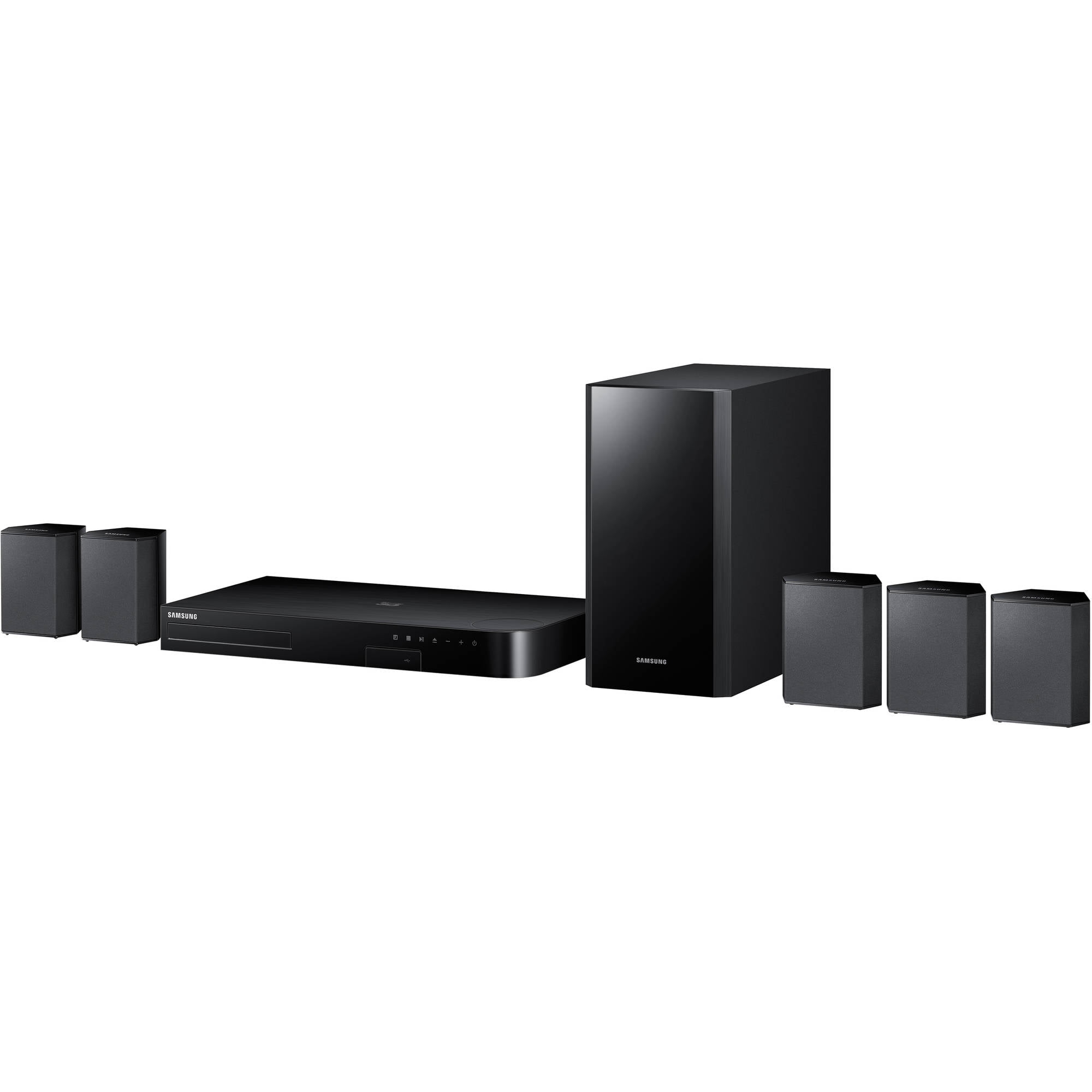 Samsung HT-J4500 5.1-Channel Smart Blu-ray Home Theater System (HT-J4500)