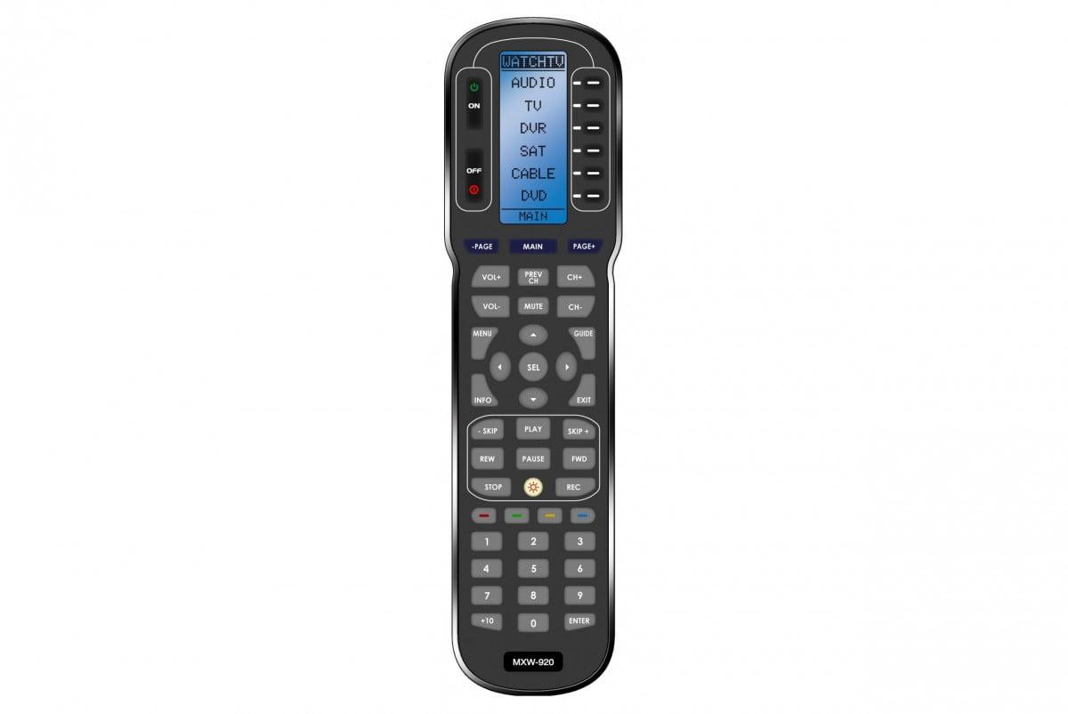 Universal Remote Control Urc Mxw920i Splashproof Rf Remote