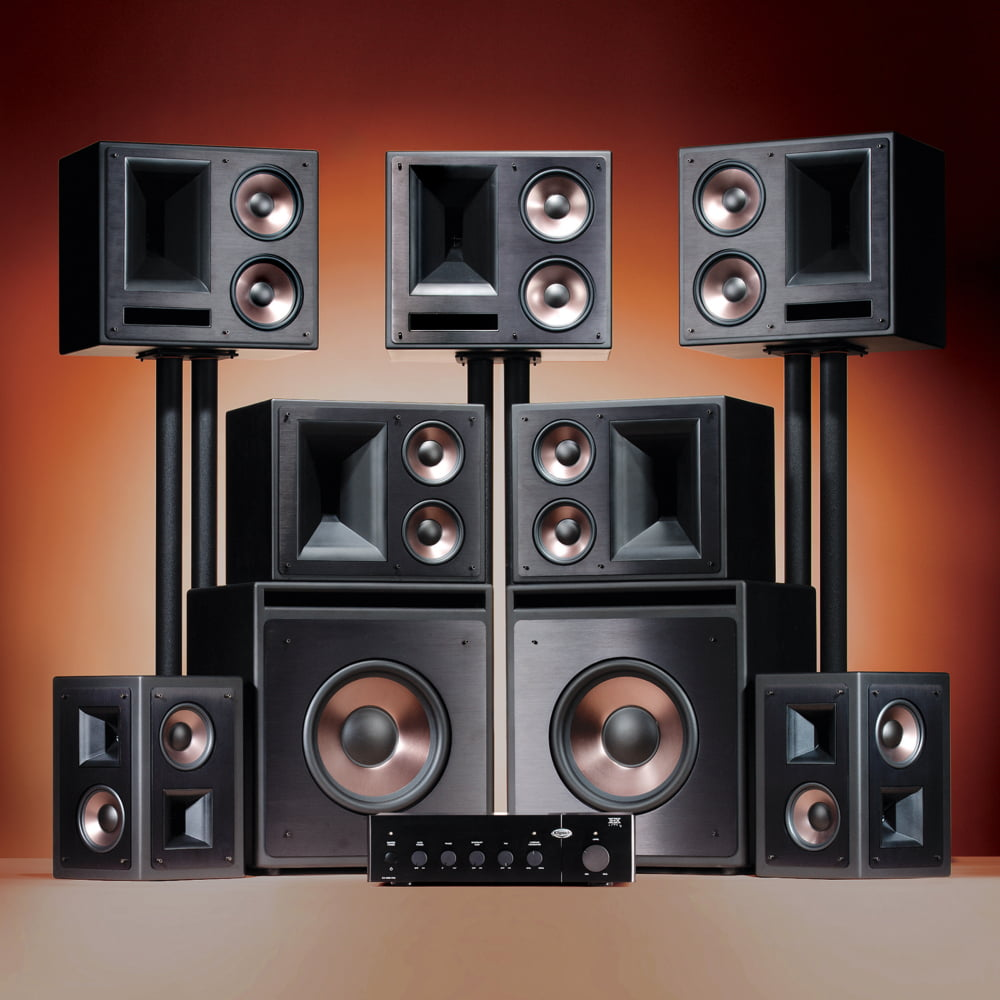 klipsch home theatre. klipsch thx ultra2 home theatre speaker system p
