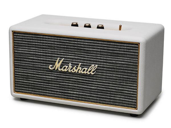 marshall stanmore bluetooth stereo speaker cream. Black Bedroom Furniture Sets. Home Design Ideas
